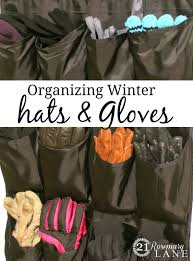 21 rosemary lane getting organized winter hats and gloves
