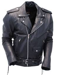 leather motorcycle clothing premium classic side lace leather motorcycle jacket m15l