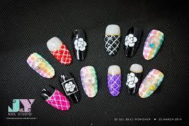 j nail studio 3d gel quilt u0026 knitted workshop 22 march