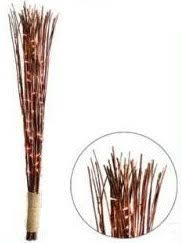 brown bamboo rope light decorative stick with lights co