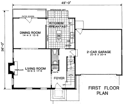 colonial style house plan 3 beds 2 50 baths 2278 sq ft plan 322 114