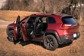 jeep mini review 2017 jeep cherokee trailhawk canadian auto review