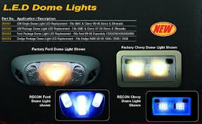 rollin smoke diesel ford 99 08 superduty led interior dome lights