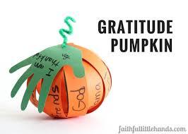 thanksgiving gratitude pumpkin paper craft with free template