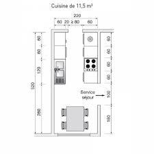 plan cuisine l plan de cuisine de 15m2