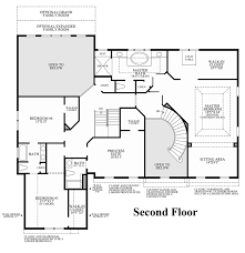 Large Master Bathroom Floor Plans Estates At Mill Creek Ridge The Champlain Home Design