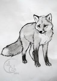tattoo sketch fox by kalseah on deviantart