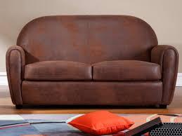 canapé cuir et microfibre canapé et fauteuil en microfibre vieilli victory ii