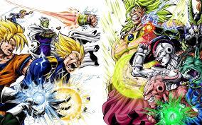 heroes villains dragon ball gt wallpaper 70935