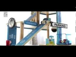 children u0027s boys u0026 girls wooden toy garage playset with cars hape