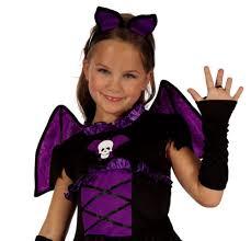 Toddler Vampire Halloween Costume Bat Witch Vampire Kids Fancy Dress Goth Halloween Party