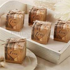 Wedding Cake Gift Boxes Unbranded Paper Wedding Favors Ebay