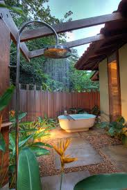 outdoor bathrooms ideas outdoor bathroom in the middle of the jungle bathroom ideas