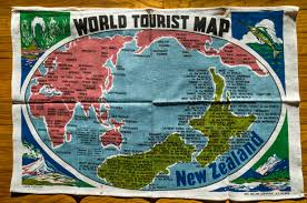 The Best Map Of The World by World Tourism Map New Zealand U0027s Perspective 4928x3264 Oc
