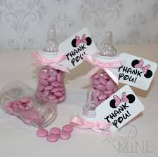 minnie mouse baby shower favors baby shower favors disney baby shower diy