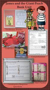 teaching james and the giant peach book units teacher
