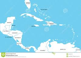 Map Caribbean by Map Of Caribbean Islands Stock Images Image 24553164