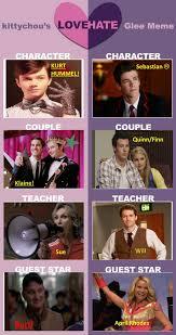 Glee Memes - glee love hate meme by goldenphoenix75 on deviantart