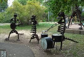 diy metal yard art enjoy the whimsical look of metal yard art