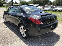 black convertible cars pontiac g6 convertible in florida for sale used cars on