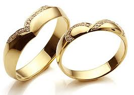 couple rings gold images 15 matching pair couple gold rings designs in india jpg