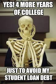 Vet Memes - skeleton vet school imgflip