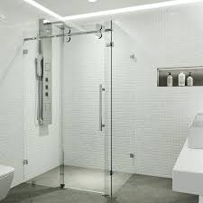 Shower Stall Doors Seamless Shower Enclosures From Standard Framed Showers To An