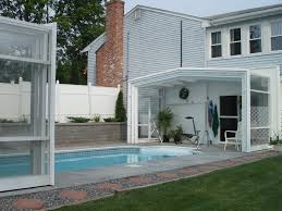 Ideas For My Backyard Retractable Pool From The House Love The Idea For My Lil Swimmers