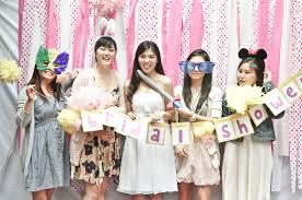 bridal showers a pink hello bridal shower bridal musings