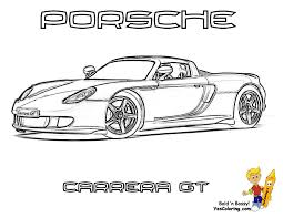 coloring pages porsche 911 unseen art org