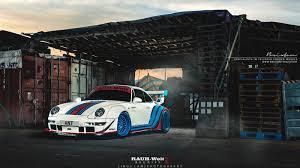 rauh welt porsche 993 martini rwb 993 brixton forged wheels