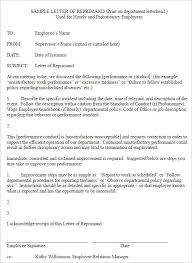 employee write up form templates free word pdf documents