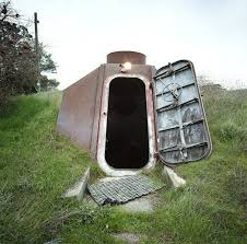 a bomb shelter in livermore california bunkers pinterest