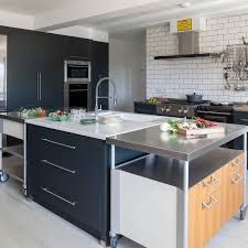 kitchen ideas with oak cabinets and stainless steel appliances 84 stainless steel countertop ideas photos pros cons