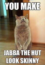 Jabba The Hutt Meme - you make jabba cat meme cat planet cat planet