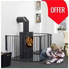 buy babydan configure flex xl hearth gate black 90 278cm online