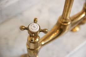 perrin and rowe kitchen faucet found the perfectly aged brass kitchen faucet remodelista