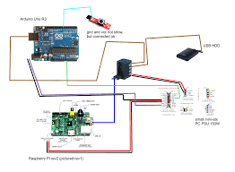power supply how to connect together raspberry arduino pc psu