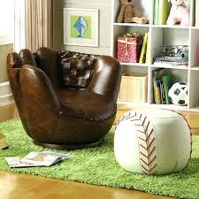 baseball chair and ottoman set baseball chair and ottoman kids glove set workfuly