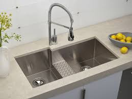 Kitchen Small Double Bowl Undermount Stainless Steel Kitchen Sink - Deep stainless steel kitchen sinks