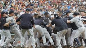 miguel cabrera austin romine fight in yankees tigers brawl u2013 the