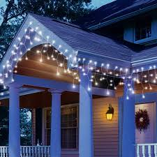holiday time string lights holiday time led white icicle string christmas lights 200 count