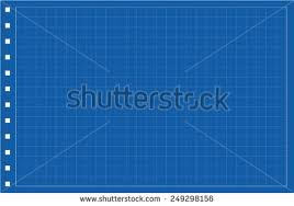 millimeter engineering paper blue graph paper stock photo