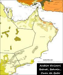 Map Of Bahrain Impressum