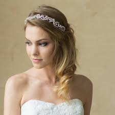 bridal headband hair vine bridal headband i bridal wedding hair