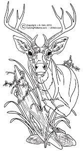 free deer print wood burning patterns wood burning sepia values