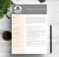 Creative Resume Templates Word 40 Best Free Resume Templates 2017 Psd Ai Doc Free Printable