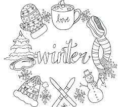 coloring pages about winter coloring pages that are printable winter coloring sheets printable
