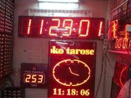 membuat jam digital led besar jual jam digital display harga murah jakarta oleh uniled