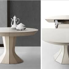 dining table for small spaces extendable adler by draenert